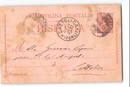12496 CASTELBOLOGNESE X CATTOLICA - 1878-00 Umberto I