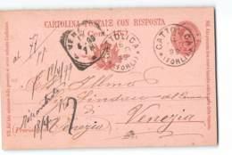 12497 CATTOLICA X VENEZIA - 1899 - 1878-00 Umberto I