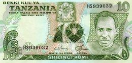 TANZANIA=N/D    10  SHILINGI     P-6      UNC - Tanzania