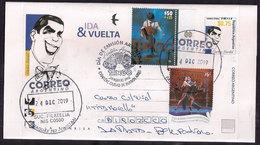 Argentina - 2019 - Lettre - Carlos Gardel - Musique Populaire - Tango - Bandoneon - Storia Postale