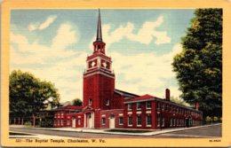 West Virginia Charleston The Baptist Temple Curteich - Charleston