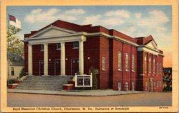 West Virginia Charleston Boyd Memorial Christian Church 1945 Curteich - Charleston