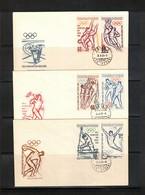 Czechoslovakia 1963 Olympic Games Tokyo FDC - Sommer 1964: Tokio