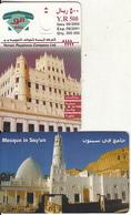"YEMEN - Mosque In Say""un, 06/00, Dummy Telecard(no Chip, No CN) - Jemen"