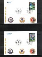 Faroer Islands 2004 100 Years Of FIFA FDC - Fútbol