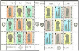 Isle Of Man IOM 1978 Europa Cept  Mi 122-127 Minisheet MNH(**) - Isola Di Man