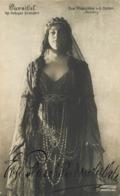 "Signed Opera Singer Eva Pleschke V. D. Osten. ""Kundry"". Autograph. Real Photo Postcard - Oper"