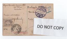 PORTUGAL Stamp PORTEADO - Tax Du Port Dû - POSTCARD & STAMPS TCV YEAR 1909 AUSTRIA AUTRICHE VIENNE WIEN - Port Dû (Taxe)