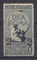 REGNO D'ITALIA 1913 FRANCOBOLLI DEL 1911 SOPRASTAMPATI SASS. 101  MLH VF - Nuovi