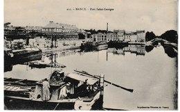 Meurthe Et Moselle NANCY Port Saint Georges - Nancy