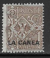 Italy Offices In Crete La Canea Scott # 3 Mint Hinged Italy Stamp Overprinted, 1906 - La Canea