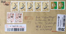 ◆◆◆ China   2016   REGISTERED   AIR MAIL  TO  Germany ++++ - 1949 - ... République Populaire