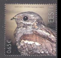 Bird Of The Year - The European Nightjar Estonia 2019 MNH Stamp  Mi 969 - Estland