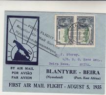 Nyassaland / Airmail / Mozambiqe / 1935 Silver Jubilee - Sin Clasificación