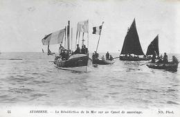 29)    AUDIERNE  - La Bénédiction De La Mer Sur Un Canot De Sauvetage - Audierne