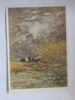 Künstlerkarte, Landschaft, Weizenfelder,  Nr. 10554/7,  1950, Mutert ♥ (4763) - Illustrateurs & Photographes