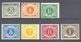 Ireland 1971 Mi 15-21 MNH ( ZE3 IRLpor15-21 ) - Postzegels
