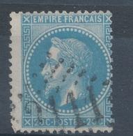 N°29 VARIETE ET OBLITERATION. - 1863-1870 Napoléon III. Laure