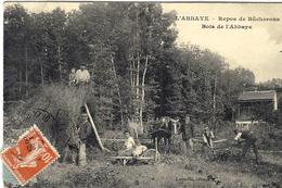 L'ABBAYE -repos De Bûcherons -bois De L'Abbaye -ed. Latreille - France