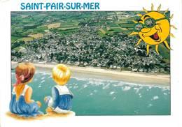 Saint Pair Sur Mer Vue Generale Et La Plage  CPM Ou CPSM - Saint Pair Sur Mer