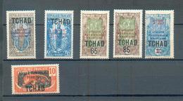 TCHAD 103  - YT 37-38-42-45-46-48 * - Tchad (1922-1936)