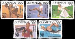 ** USA - 1990 - Olympic Winners - Mi. 2093-7 - Sommer 1992: Barcelone