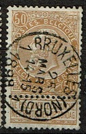 62  Obl   Centrale  BXL (Nord) - 1893-1900 Schmaler Bart
