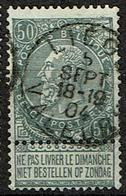 63  Obl   Liège Valeurs  + 8 - 1893-1900 Schmaler Bart