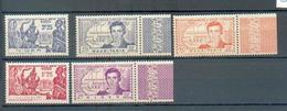 NIG 228 - YT 64 à 66 ** - 67 Et 68 * - Niger (1921-1944)