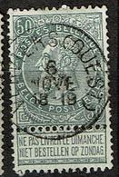 63  Obl   Verviers (Ouest) - 1893-1900 Schmaler Bart