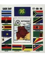 Ref. 51653 * MNH * - BOTSWANA. 1999. COMUNITY DAY FOR THE DEVELOPMENT OF AUSTRAL AFRICA . DIA DE LA COMUNIDAD POR EL DE - Botswana (1966-...)