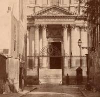 Paris 5e C.1870 LE VAL DE GRACE HOPITAL MILITAIRE Photo  11X16.5cm Sur Carton - Photographs
