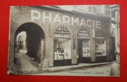 46 Pharmacie Bariat Cpa Très Beau Plan éditeur Photo Lala Dos Dos Scanné Sépia - Figeac