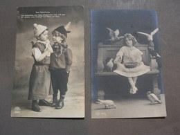Kinder 2 Old Cards Bayern 1908 - Abbildungen