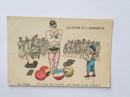 Satire Guillaume II - Haltères - Dumbbells - Haltérophilie - Weightlifting - Francia