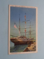 """Admiral BYRD's POLAR Ship """" THE CITY Of NEW YORK """" Chicago's World Fair (3A-H15) Anno 1933 ( See Photo ) ! - Bateaux"""