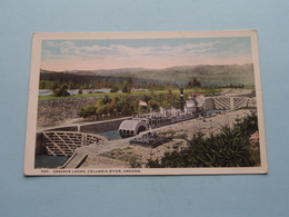 CASCADE LOCKS, Columbia River OREGON ( 320 - Lipschuetz ) Anno 19?? ( See Photo ) ! - Etats-Unis