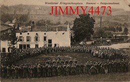 CPA - BLAMONT - Westlicher Kriegsschauplatz En 1916 - Feldgottesdienst 54 Meurthe Et Moselle - Verlag Emil Hartmann - Blamont