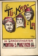 Artiste Cp R., M., Oldenburg In Niedersachsen, Tü Kra I La, Landestheater 1928 - Allemagne