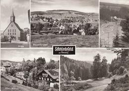 Schmiedefeld Am Rennsteig Ak146478 - Schmiedefeld