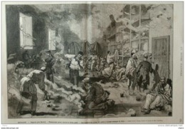 Espagne - Léganès Près Madrid - Précautions Prises Contre La Fièvre Jaune - Page Original - 1878 - Documenti Storici
