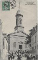 CONCARNEAU - LA VILLE CLOSE - EGLISE DE SAINT-GUENOLE - BELLE ANIMATION - 1909 - Concarneau