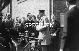 Fotokaart Koning Op Bezoek Bij Bekaert - Zwevegem - Zwevegem