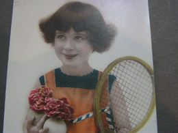 Kind , Tennis - Abbildungen