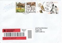 Reko -Brief Von 8006 Graz Postpartner Mit 310 Cent Mischfrankatur 2019 - 1945-.... 2. Republik