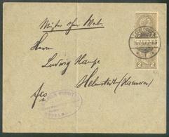 2cent. (paire Verticale) Obl. Dc ETTELBRÜCK Sur Lettre Du 16.7.1907 Vers Hannover (tarif Imprimé) Drucksacke)  - 14927 - 1895 Adolphe De Profil