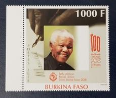 BURKINA FASO 2018 - NELSON MANDELA MANDELLA CENTENARY 100 - PANAFRICAN JOINT TWIN ISSUE COMMON DESIGN - ULTRA RARE - MNH - Emissions Communes