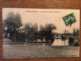 CPA, Le Recoude, Vue Prise Dans Le Parc De Mr Lefèvre, écrite En 1909 (51, Marne), Timbre - France