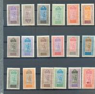 Ht Sen 24 - YT 15-20-21-22-23-24-25-26-27-28-29-30-31-32-33-34-35  * - Le YT 19 (2c) Est Offert - Haut-Sénégal Et Niger (1904-1921)