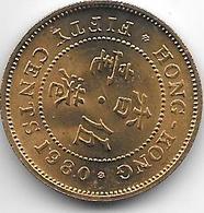 * HONG KONG 50 Cents  1980 Km  41 Bu !!!!! - Hongkong